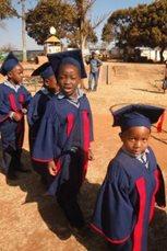 Die Abschlussklasse von SOS-Kindergarten (Foto: SOS-Archiv)