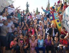 SOS-Kinderdorf Bethlehem feiert zusammen  (Foto: SOS-Archiv).