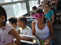 Kinder haben Spaß beim Ausflug (Foto: SOS-Archiv)