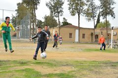 Fußball spielen! (Foto: SOS-Archiv)