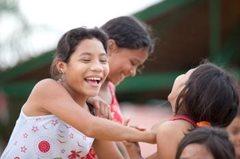 Mädchen im SOS-Kinderdorf (Foto: P. Wittmann)