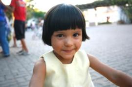 Kleines Mädchen in Tijuana (Foto: I. Hidalgo)