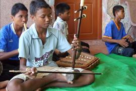 Traditionelle Musikinstrumente (Foto: A. Halbhuber)