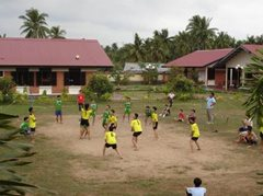 Ballspiel im SOS-Kinderdorf (Foto: SOS-Archiv)