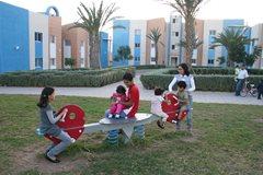 Kinder vergnügen sich auf dem Spielplatz (Foto: SOS-Archiv)