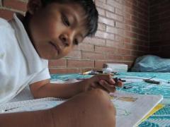 Wir bieten ein stabiles Umfeld, wo die Kinder gedeihen können (Foto: SOS-Archiv)