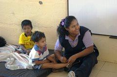In unserem SOS-Sozialzentrum in Guayaquil (Foto: SOS-Archiv)