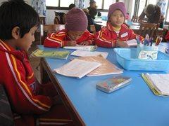 In der Schule (Foto: SOS-Archiv)
