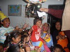 Beim Feiern (Foto: F. Espinoza)
