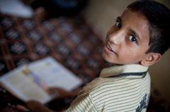 SOS-Kinderdorf unterstützt Kinder, so dass sie einer besseren Zukunft entgegensehen können (Foto: C. Ashleigh).