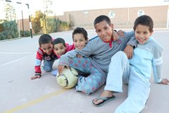 In unserer Obhut wachsen Kinder gemeinsam in einem liebevollen Zuhause auf (Foto: SOS-Archiv).