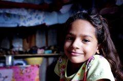 Lächelndes Mädchen in Manaus (Foto: P. Wittmann)